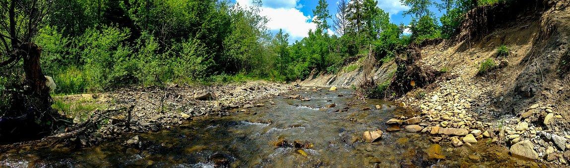 Muszyna, River, Szczawnik, Holiday, Holidays, Mountains