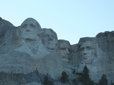 Mountain, Mount Rushmore, Memorial