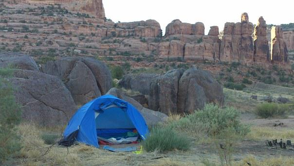 Camping, Tent, Nature, Camp, Summer, Recreation