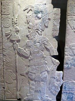 Mexico, Palenque, Museum, Warrior, Maya, Archaeology