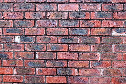 Brick, Wall, Face Brick, Blocks, Clay, Mortar, Pattern