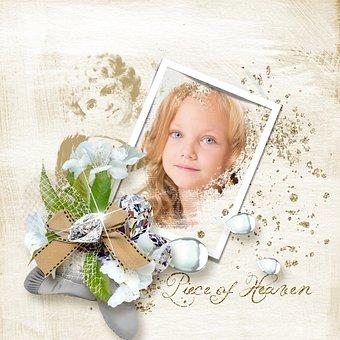 Spring, Scrapbook, Design, Piece Of Heaven, Vanilla M