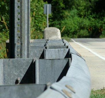 Guard Rail, Guard, Rail, Metal, Road, Protection, Fence