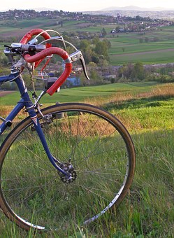 Bike, Bicycle Trip, Cycling, Retro Bike, Steering Wheel