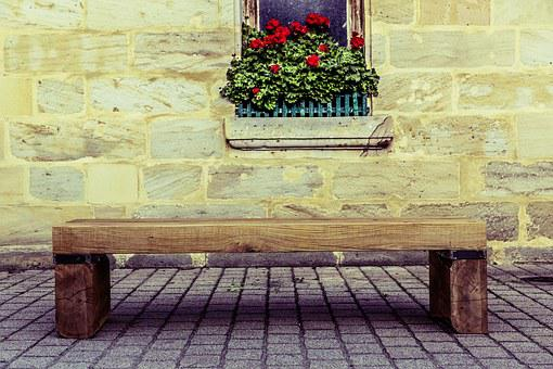 Wood, Bank, Upcycling, Minimalism, Seat, Bench, Rest