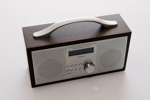 Portable Radio, Dab, Digital, Stereo, Metal, Audio