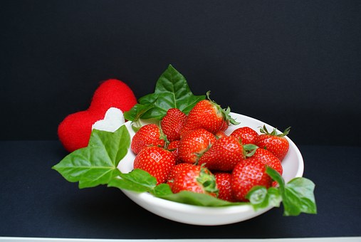 Strawberries, Cake, Mother's Day