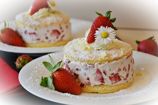 Strawberries, Strawberry Shortcake, Strawberry Cake