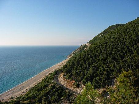 Greece, Lefkada, Sea, Island, Landscape, Summer, Beach