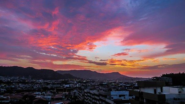 Sunset, Equator, Guayaquil