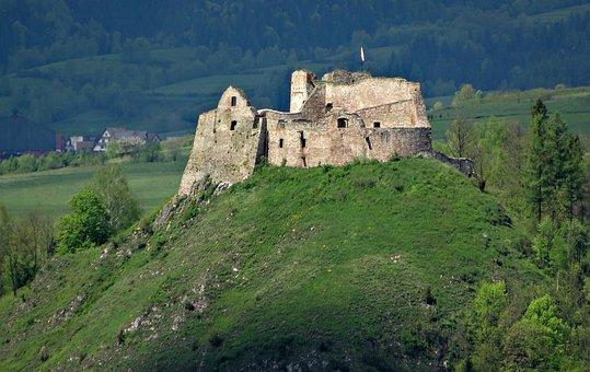 Czorsztyn, Poland, Castle, The Museum, The Ruins Of The