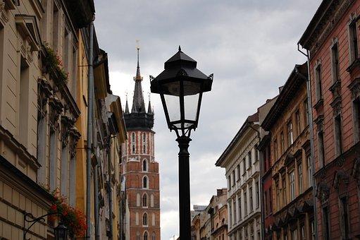 Kraków, Poland, Monument, The Market, The Old Town