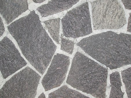 Stone Pavement, Stone Tiles, Grey, Tile, Floor