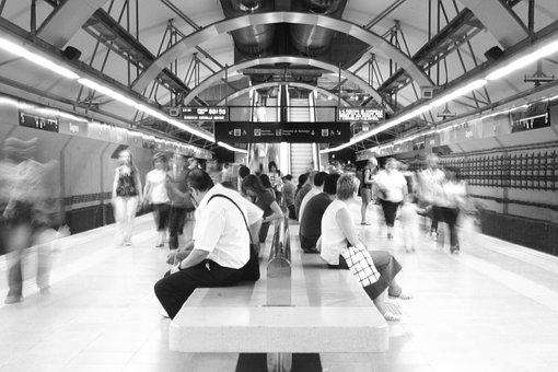 Underground, Tube, Metro, Tunnel, Transport, City