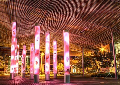 Lights, Architecture, Art, Design, Modern, Urban