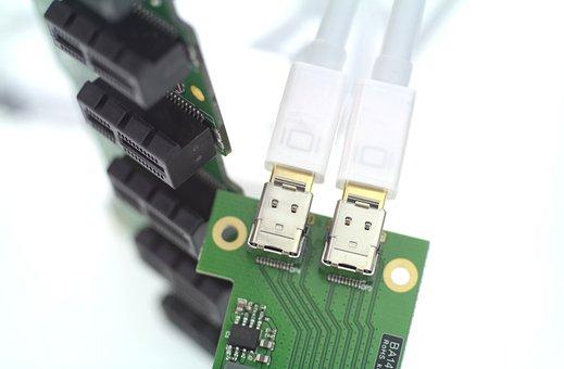 Mini, Display, Port, Usb, Cabel, Plug