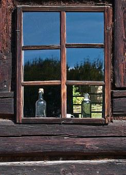 Window, Old, Cottage, Monument, Malopolska, Village