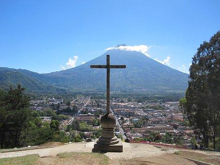 Guatemala, Antigua, America, Central, Catholic