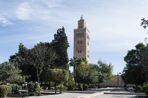 Mosque, Marrakesh, Morocco, Moroccan, Africa, Arabic