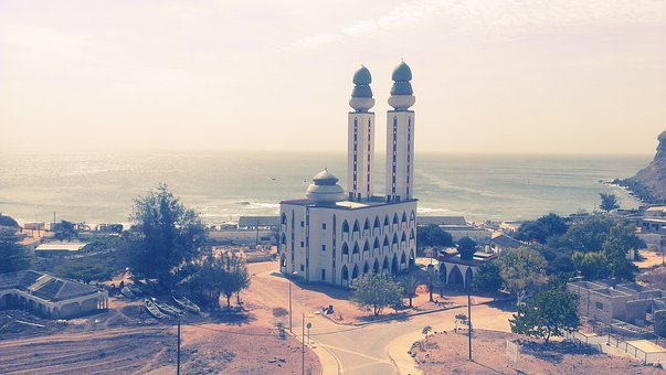 Fisherman Mosque, Dakar, Senegal, Architecture