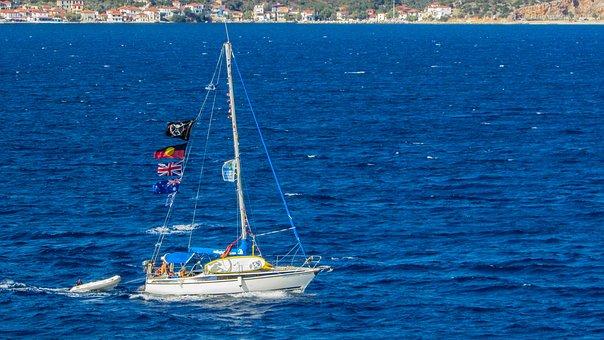 Sailboat, Sea, Boat, Summer, Travel, Vacation, Tourism