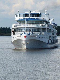 River Cruise, Russia, Cruise, Cruise Ship, Lake Ladoga