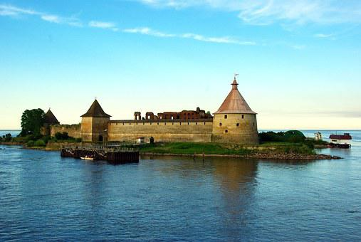 Ladoga, Fortin, Fortress, Ile, Lake