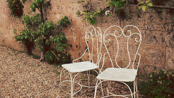Chairs, Garden Set, Classic Chairs, Garden, Castle