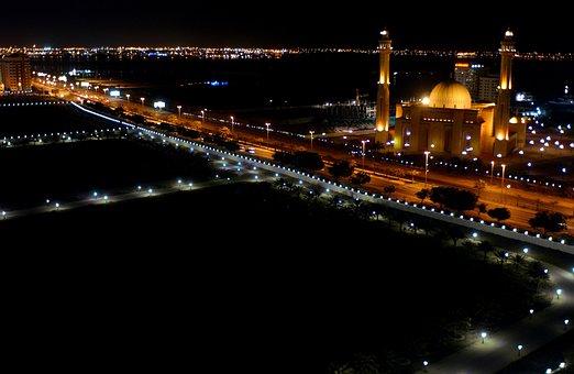 Bahrain, Grand Mosque, Faith, Religion, Buildings