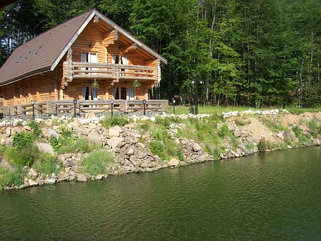 Chalet, Wooden House, Home, House, Stay