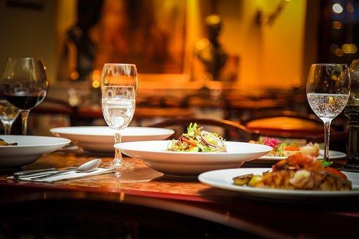 Abendbrot, Restaurant, Salad, Eat, Italians, Berlin