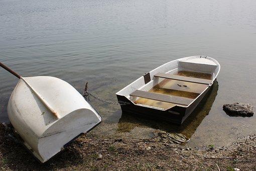 Water, Rowboat, Summer, Pond, Surface, Lake