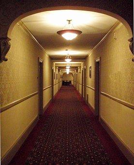 Corridor, Path, Tunnel, Light, Entrance, Dark, Passage