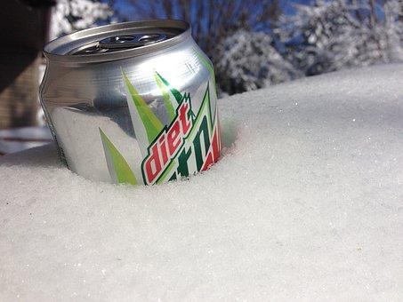 Snow, Mt, Dew, Mountain Dew, Winter, Ice, Freezing
