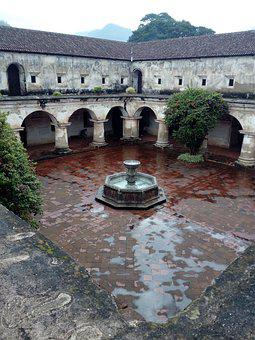 Guatemala, Old, Antigua Guatemala, Old Building
