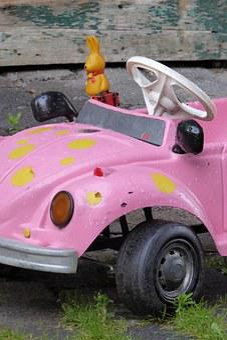 Vw, Auto, Pink, Toys, Pedal Car, Vw Beetle, Beetle