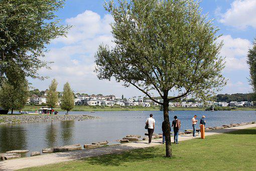 Dortmund, Hörde, Phönisxsee, Phoenix Lake, Walk, Relax