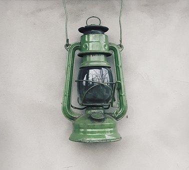Replacement Lamp, Kerosene Lamp, Old, Mood, Light, Oil