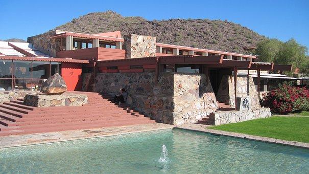 Frank Lloyd Wright, Taliesin West, Building, Phoenix