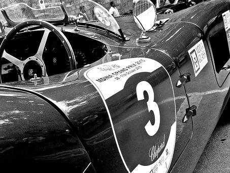 Classic Car, Jaguar, E-type, Vintage, Retro, Vehicle