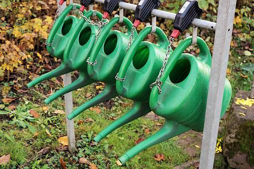 Watering Cans, Casting, Irrigation, Water, Plastic