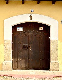 Door, Wood, Wooden Door, Texture, Closed, Old Wood