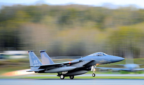 Take-off, F-15 Eagle, Jet, Aircraft, Fighter, Air Force