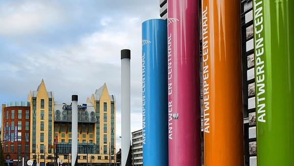 Antwerp, Astrid Square, Radisson Blu Astrid Hotel