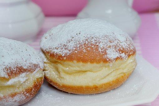 Donut, Food, Baked Goods, Eat, Carnival, Sugar, Dough
