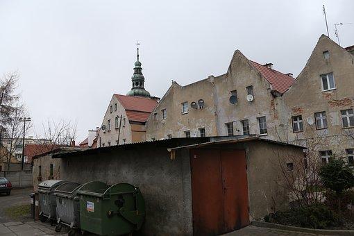 The Town Hall, Bytom Nadodrzanski, Townhouses, City