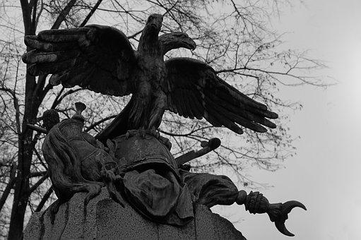 Dead, Cemetery, Scary, Bird, Dark, Gothic, Sadness