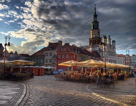 Poznan, Poland, Monuments, City, The Sun, Holidays
