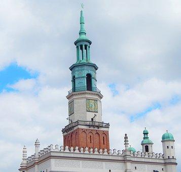 Poznan, City, The Old Town, The Market, Tourists