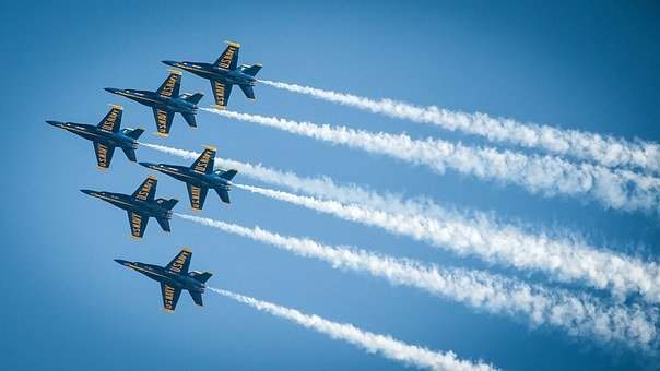 Blue Angels, Jets, Navy, Military, Sky, Aircraft, Fly